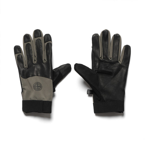 Stone Island Soft Shell R-Gloves Olive