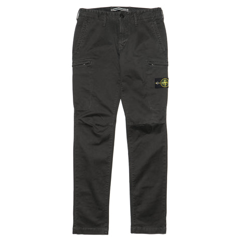 stone island Stretch Broken Twill Cotton Garment Dyed Old Effect Pants Antracite