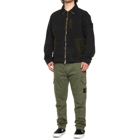 "Stone Island Stretch Broken Twill Garment Dyed ""Old Effect"" Cargo Pant Olive, Bottoms"