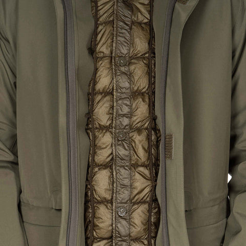 Stone Island Tank Shield Ghost Piece Multi Layer Fusion Technology Militaire