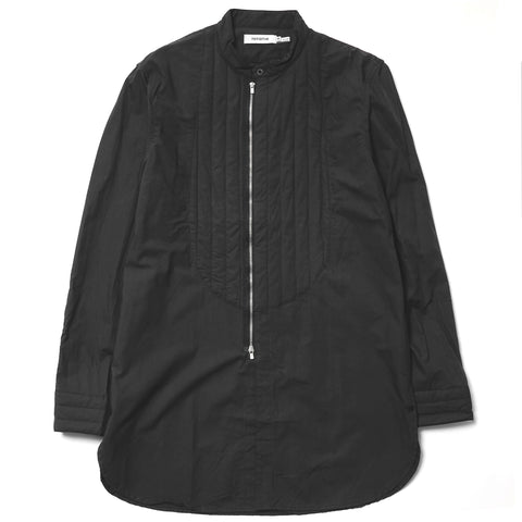 nonnative Stroller Quilted Long Shirt - Cotton Mini Ripstop Overdyed