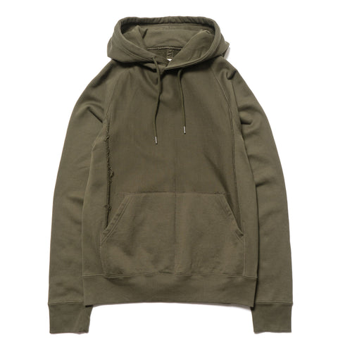 takahiromiyashita the soloist. Pullover Freedom L/S Hoody Olive Drab