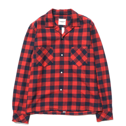 takahiromiyashita the soloist. Work Shirt red x navy