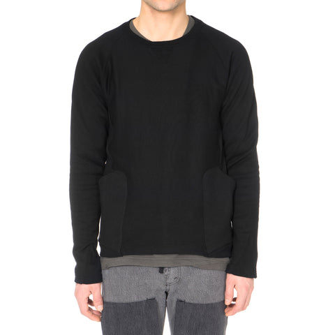 TAKAHIROMIYASHITA The Soloist 2-pocket Crew Neck Sweat Shirt Black