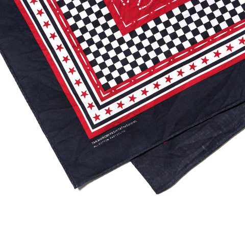 takahiromiyashita the soloist. Bandana navy x red