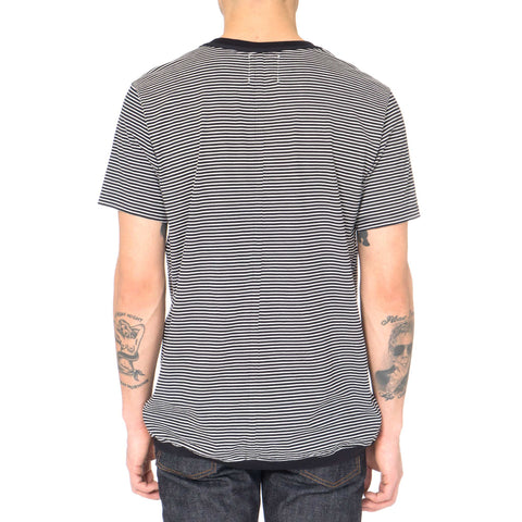 TAKAHIROMIYASHITA The Soloist Border Stripes Crew Neck S/S Tee
