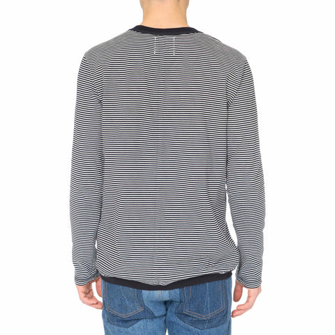 TAKAHIROMIYASHITA The Soloist Border Stripes Crew Neck Shirt