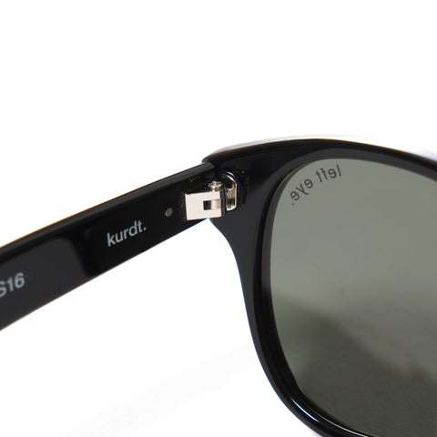TAKAHIROMIYASHITA The SoloIst. Kurdt Sunglasses Black/Green