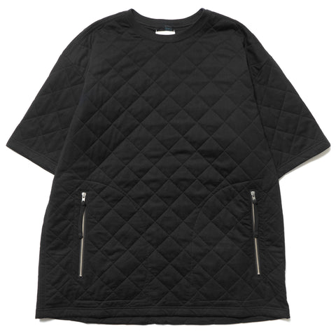 TAKAHIROMIYASHITA The SoloIst. Oversized Quilted SS Tee Black