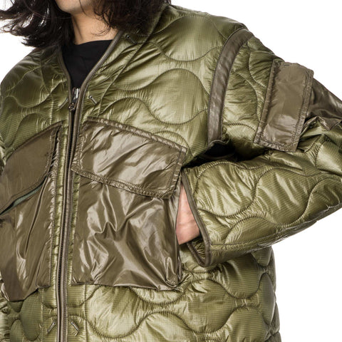 Quilted Liner Jacket IV – HAVEN : quilted liner - Adamdwight.com