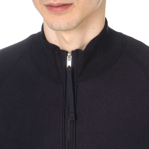 TAKAHIROMIYASHITA The SoloIst. Zip Up Mock Turtleneck Sweat Shirt