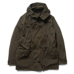 Ten C Deck Parka Dark Brown