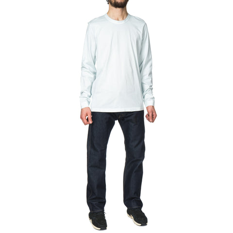 ten c Mako Cotton L/S T-Shirt Mint