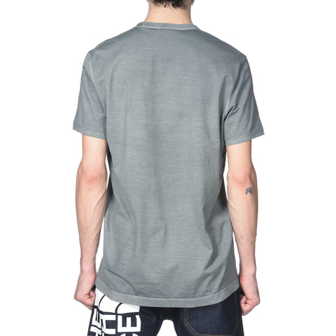 Mako Cotton S/S T-Shirt Charcoal