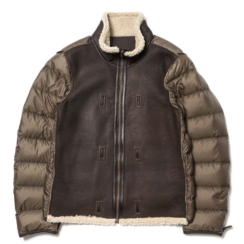 Ten C Shearling Liner Off-White