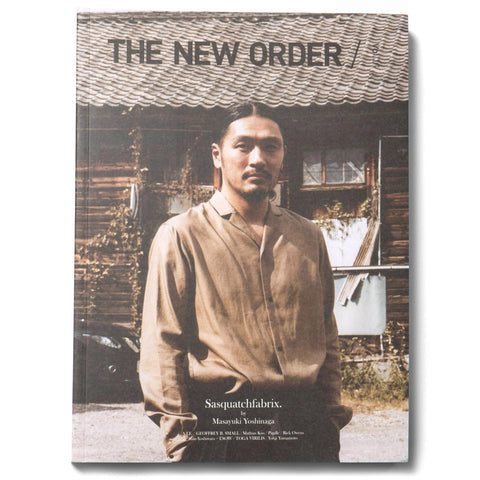 The New Order Magazine Vol.16 Sasquatchfabrix. by Masayuki Yoshinaga