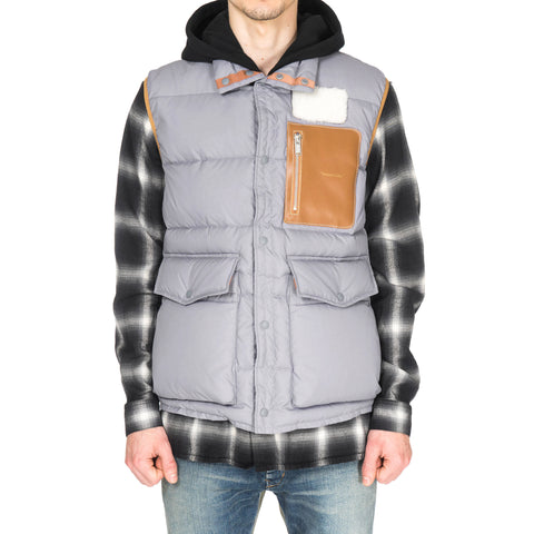 UNDERCOVER UCR4001 Vest Gray
