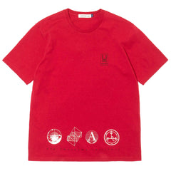 undercover UCU3811 T-Shirt Red