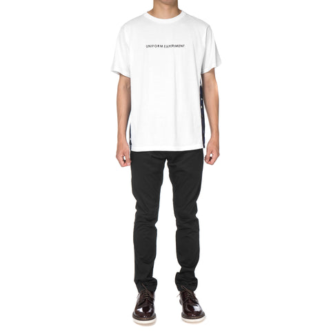 Uniform Experiment Side Panel Tee White