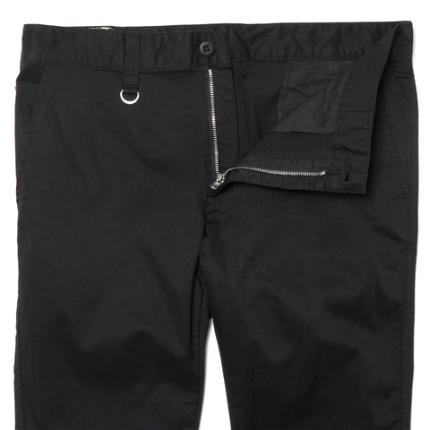 Uniform Experiment Slim-Fit Stretch Chino Pant Black