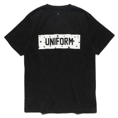 uniform experiment star box logo tee black