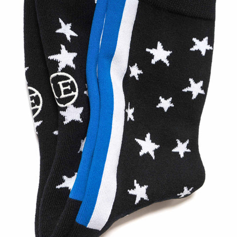 uniform experiment Star Stripe Regular Socks Black