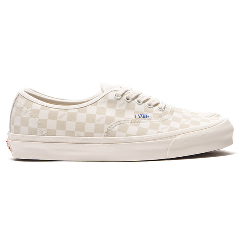 Vans Vault OG Authentic LX (Canvas/Suede) Checkerboard/Marshmallow