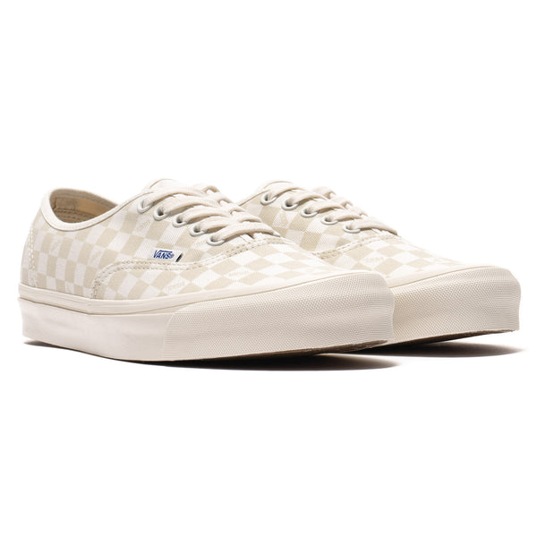 dd04a641cb OG Authentic LX (Canvas Suede) Checkerboard   Marshmallow – HAVEN
