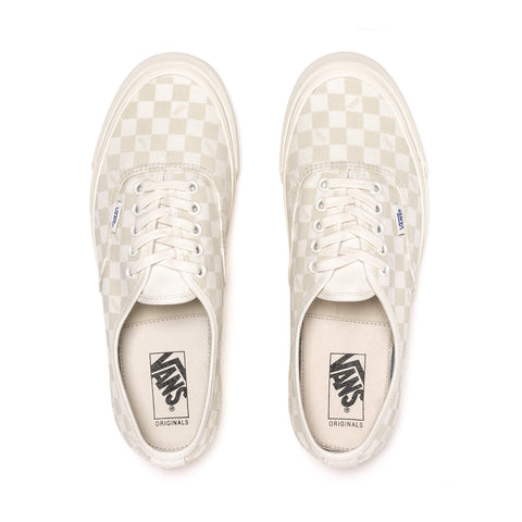 Vans Vault OG Authentic LX (Canvas/Suede) Checkerboard / Marshmallow, Footwear