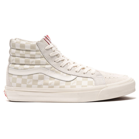 OG SK8-Hi LX (Suede/ Canvas) Checkerboard / Marshmallow