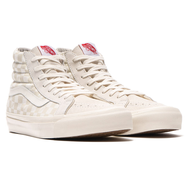 b43808ef34357f OG SK8-Hi LX (Suede  Canvas) Checkerboard   Marshmallow – HAVEN