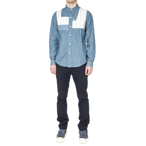 visvim Granger Shirt Chambray (P.W.) Blue