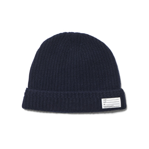 visvim Knit Beanie (Wool) Navy
