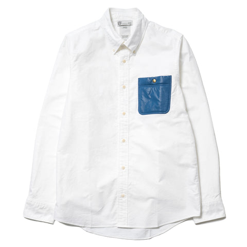 visvim V+V B.D. Pocket L/S Giza Ox Blue