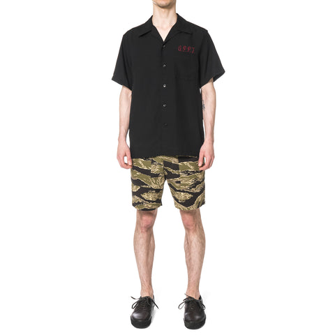 WACKO MARIA 50's Shirt S/S (Type-4) Black
