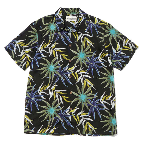 WACKO MARIA Printed Flower S/S Hawaiian Shirt