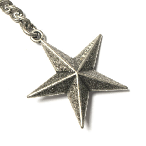 wacko maria Star Key Holder Silver