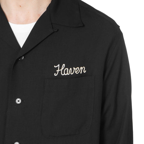 WACKO MARIA x HAVEN 50's Open Collar Shirt