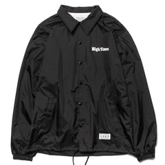 wacko maria x High Times Coach Jacket (Type-1) Black