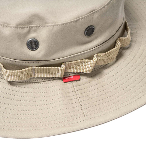 WTAPS Boonie Hat 02 / Hat. Cotton Coffee Stain