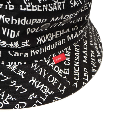 WTAPS Bucket Hat / Hat. Copo Black