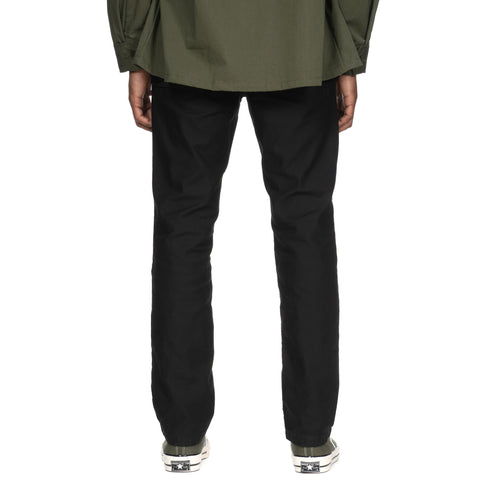 WTAPS Buds Skinny / Trousers. Cotton. Satin Black