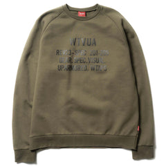 WTAPS WTVUA Sweat Shirt / Knit Olive Drab