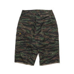 WTAPS Jungle. Chopped / Shorts. Cotton. Twill. Tiger Stripe