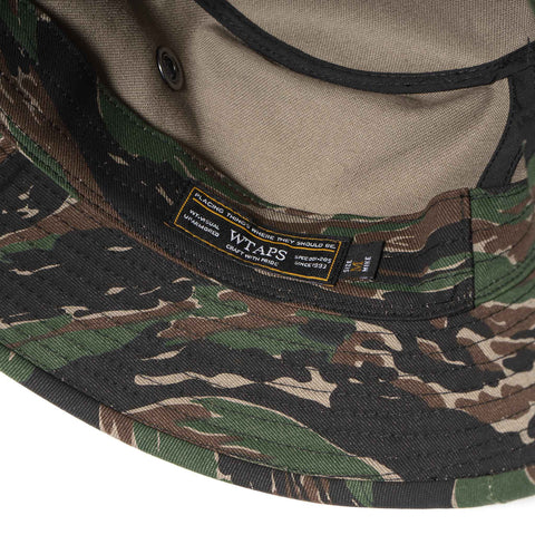 WTAPS Jungle Hat / Hat. Cotton. Twill. TIGER STRIPE