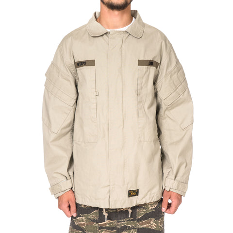 WTAPS M90 / Jacket. Cotton. Weather Coffee Stain