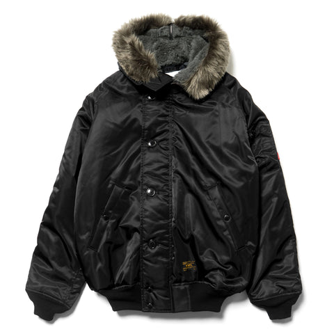 wtaps N-2B / Jacket. Nylon. Twill Black