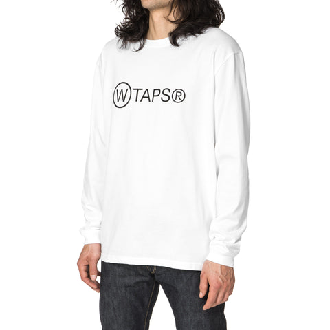 WTAPS Point Man T-Shirt / Knit White