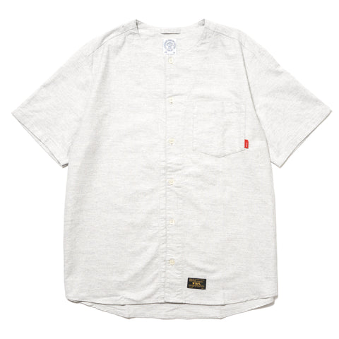 WTAPS Supply SS / Shirt Cotton Oxford Gray