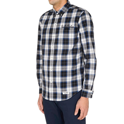 Wacko Maria Cotton Ombre Check B.D Shirt (Type-3)